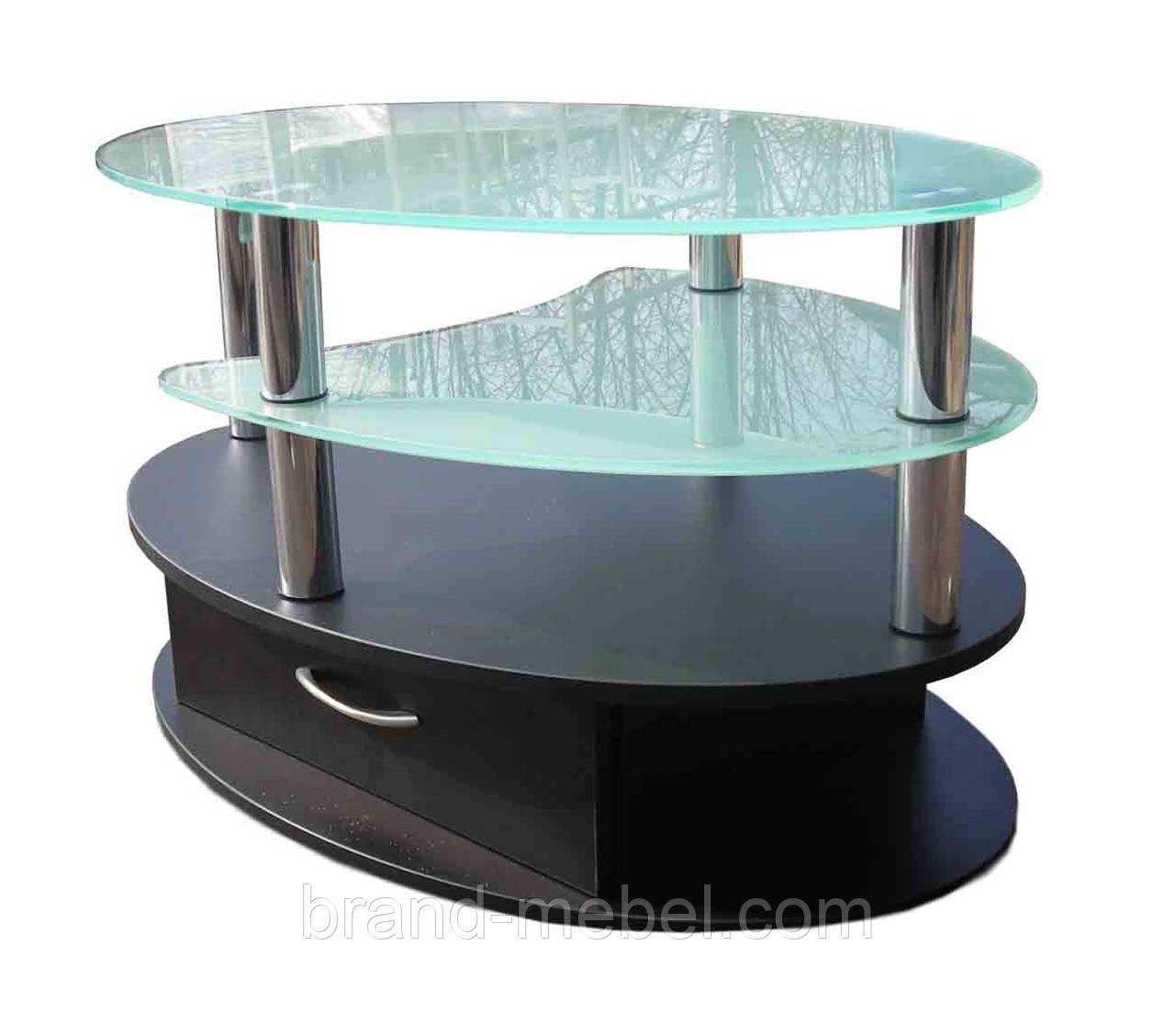 Стол журнальный СТ-604 прозрачный
