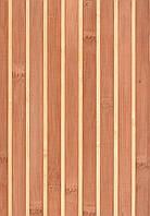 Бамбуковые обои темно-светлые 17/5, ширина 90 см.