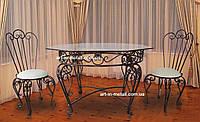 """Кованый стол и стулья  """"Альбина"""""""