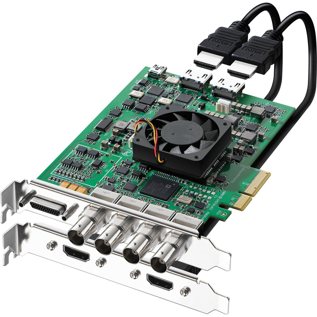 Плата захвата Blackmagic Design DeckLink 4K Extreme (BDLKHDEXTR4K)