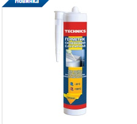 Герметик силиконовый санитарный ,  прозрачный, 230 мл