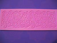Коврик кондитерский силиконовый для айсинга Кружево