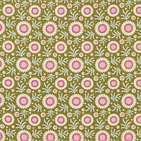 Отрез ткани последний Tilda Sunflower Green 15х110см, 481111
