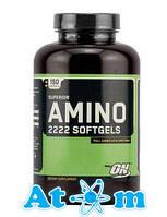 Аминокислоты - Superior Amino 2222 Softgels - Optimum Nutrition - 150 капс