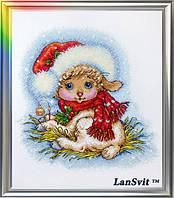 """Набор для вышивания ЛанСвит """"Рождественский ягненок"""""""