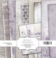 Набор бумаги для скрапбукинга Scrapmir French Provence, 30х30 см
