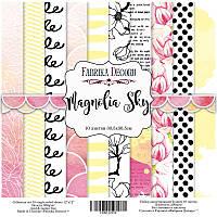 Набор бумаги для скрапбукинга Magnolia Sky, 30х30см