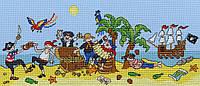 "Набор для вышивания Bothy Threads Pirate Fun ""Веселые пираты"", XJR25"