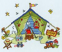 "Набор для вышивания Sew Dinky Tent ""Намет"", XSD7"