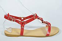 Классические кожаные босоножки Magnori на низком ходу