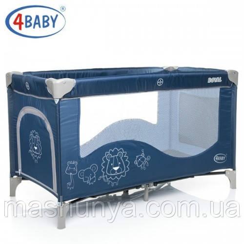 Манеж - ліжко 4Baby Royal