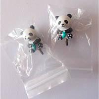 Заглушки для сменных шнуров HiyaHiyа Panda Small, 2 шт