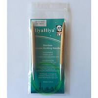 Спицы HiyaHiya круговые бамбуковые 80см 9мм