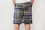 Чоловічі шорти (плащівка), сірого кольору, фото 3