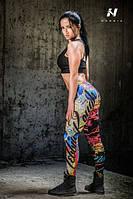 Стильные леггинсы для фитнеса Nebbia 881, фото 1