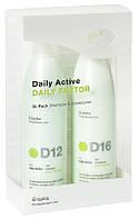 ERAYBA D12/D16 Набор DAILY FACTOR Серия для ежедневного ухода (шампунь 250 мл + кондиционер 250 мл)