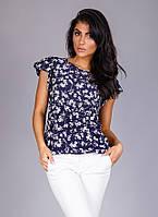 Модная блузка из тонкой дышащей ткани