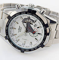 Механические часы с автоподзаводом Winner Chronometer (white)
