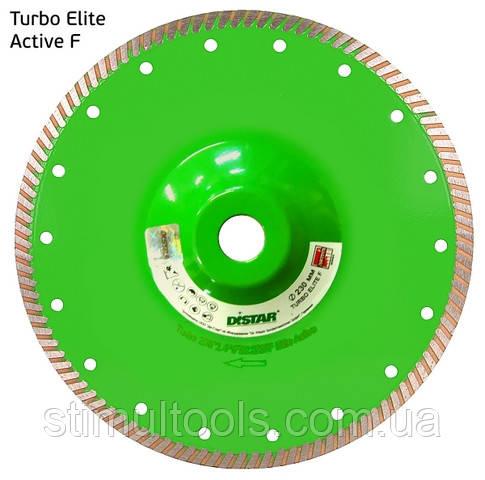 Круг алмазный отрезной 1A1R Turbo 230x2,6x9x22,23/F Elite Active
