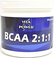 """Аминокислоты BCAA 2:1:1 """"VITA POWER"""" 500 г."""