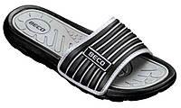 Мужские тапочки BECO чёрный/серый 9082 011