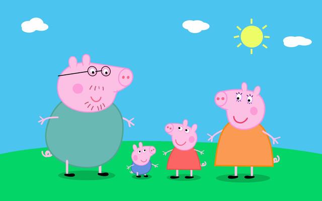Свинка Пеппа и семья