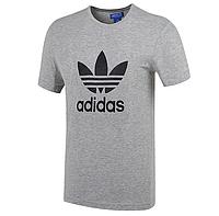 "Футболка Adidas Originals ""ADI TREFOIL TEE"", серый, фото 1"