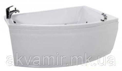 Ванна Тритон Бэлла 140х75х60 см акриловая ассиметричная