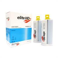 ELITE HD+ LIGHT NORMAL, 2 картріджа по 50ml, А-силікон (полівінілсілоксан) низької в'язкості, 12 змішуючих нас