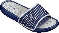 Мужские тапочки BECO тёмно-синий/серый 9082 711