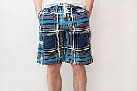 Мужские летние шорты цвета электрик (удлиненные)