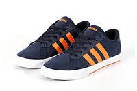 """Кроссовки Adidas Neo Daily """"Navy/Orange"""""""