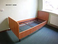 Кровать на металлическом каркасе для санаториев, фото 1