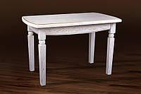 Стол обеденный Кайман белый+патина (Микс-Мебель ТМ)