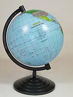 Глобус политический, диаметр 220 мм На Украинском