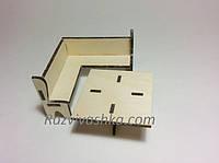 Кукольная (игрушечная) мебель Кухонный уголок  для PetShop, зверюшек, пони, творчества , фото 1