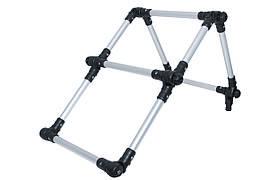 Лестница складная из алюминиевой трубы Ø 22 мм Borika Fl022