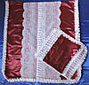Ритуальный Комплект № 103 Комплект Атлас Тюль по Середине