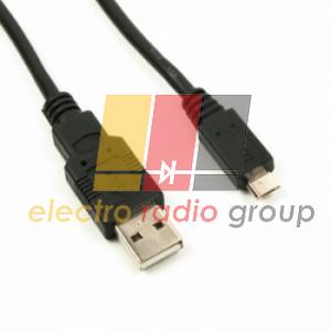 Шнур шт.USB А -шт.miсro USB (Samsung), short pin, 1м, белый(черный)