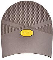 Набойка резиновая мужская BISSELL, art.RB612, цв. коричневый (желтый лого)