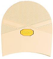 Набойка резиновая мужская BISSELL, art.RB612, цв. бежевый (желтый лого)
