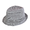 Шляпа детская челентанка х/б принт мелкий серый