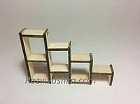 Кукольная мебель Полочка-стенка для PetShop, зверюшек, пони, творчества