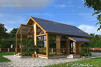Дом из СИП панелей «проект 03» 140 м2