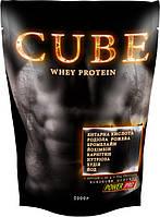 Специальный сывороточный протеин с Л-карнитином CUBE от Power Pro (1 кг)
