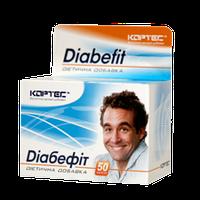 ДИАБЕФИТ – нормализует уровень сахара в крови, 50 капс Кортес