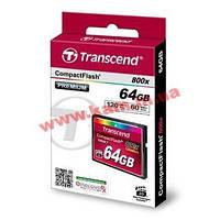 Карта памяти Transcend CF 64GB(800X) (TS64GCF800)