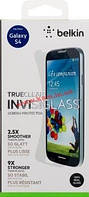 Защитное стекло BELKIN Galaxy S4 TrueClear Invisiglass (F8M587vf)