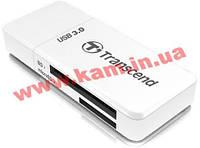 Кардридер TRANSCEND Cardreader TS-RDF5W 5-in-1USB 3.0 White (TS-RDF5W)