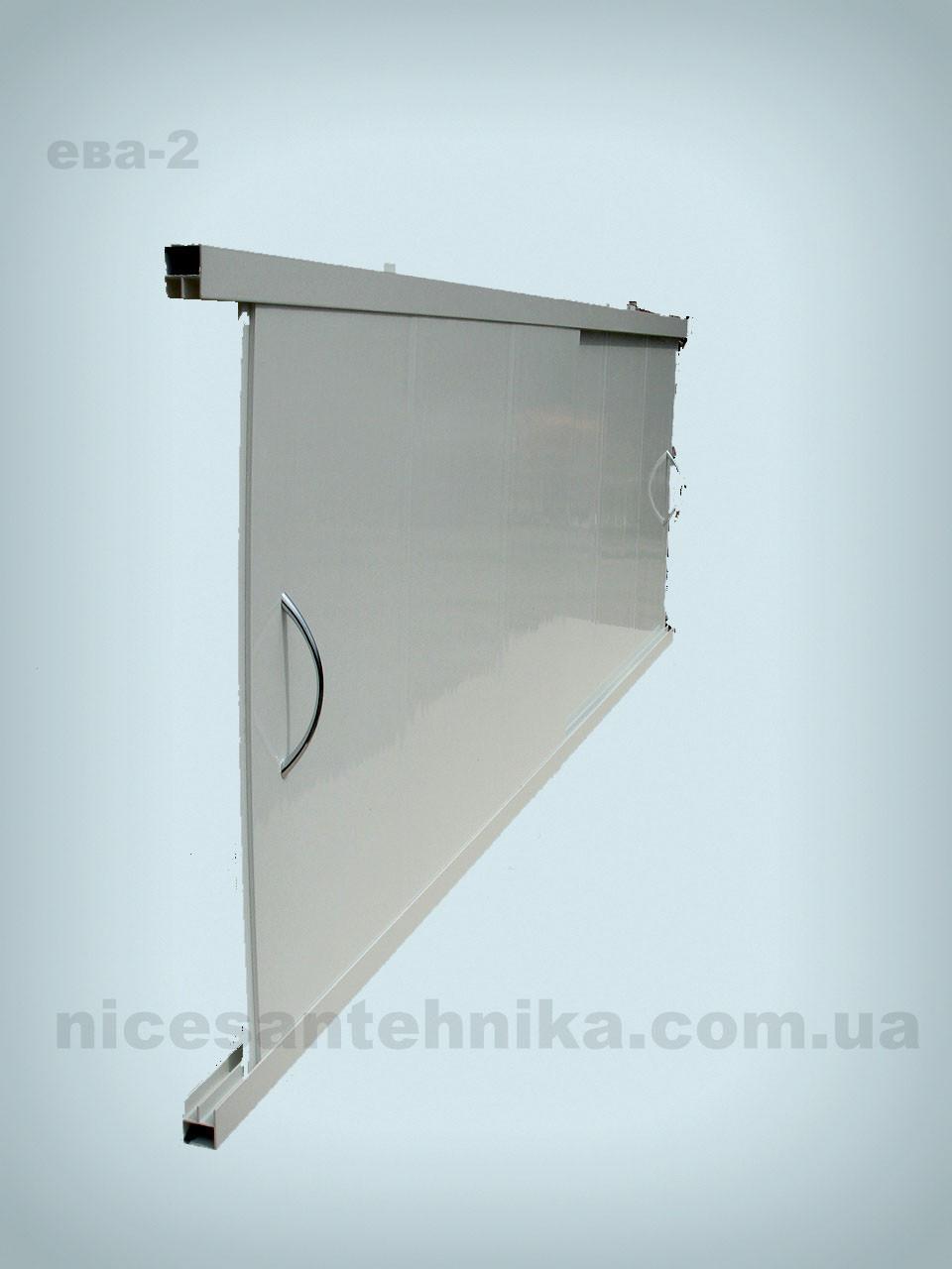 Экран для ванны алюминиевый 120*55 см. ЕВА-2